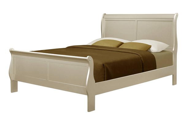 Crown Mark Louis Philip Champagne Queen Bed CRW-B3450-Q-BED