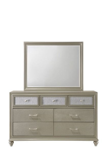 Crown Mark Lila Dresser And Mirror CRW-B4390-DRMR