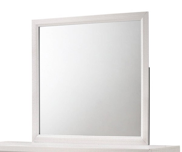Crown Mark Akerson White Mirror CRW-B4610-11