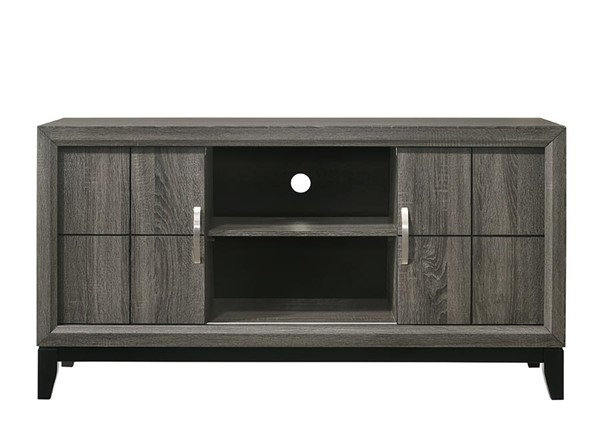 Crown Mark Akerson Grey TV Stands CRW-B462-TS-VAR
