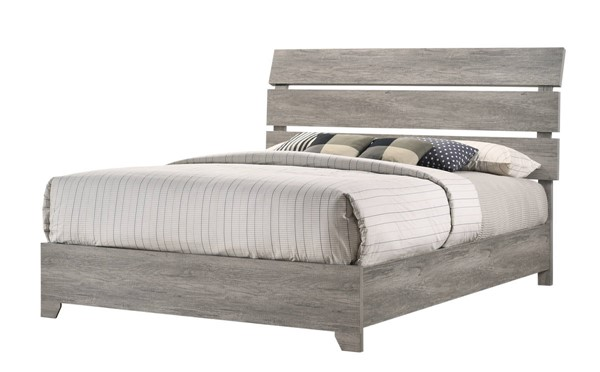 Crown Mark Tundra Grey Queen Bed CRW-B5520-Q-BED