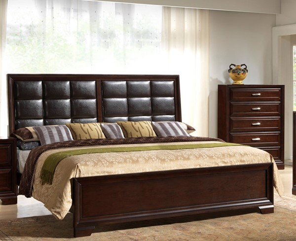 Crown Mark Jacob Bed CRW-B6510-K-BED-VAR