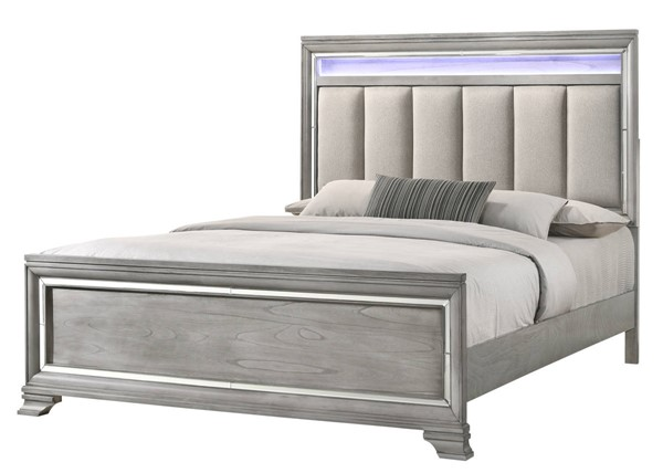 Crown Mark Vail Grey Beds CRW-B7200-BED-VAR