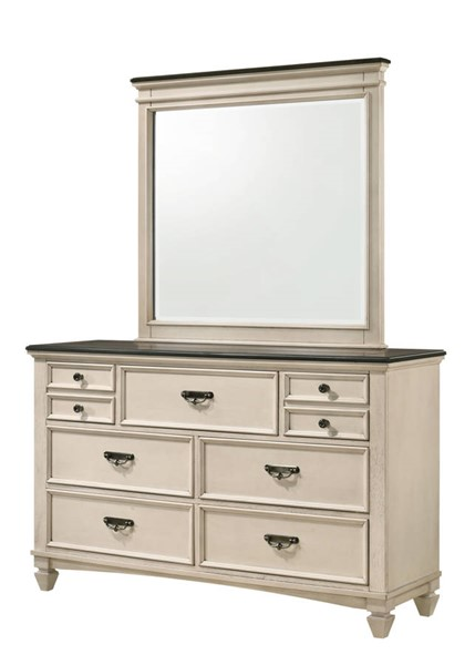 Crown Mark Sawyer Dresser and Mirror CRW-B9100-DRMR