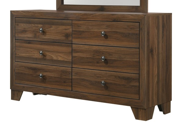 Crown Mark Millie Brown Cherry Dresser CRW-B9250-1