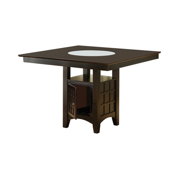 Coaster Furniture Cappuccino Wood Square Counter Table CST-100438