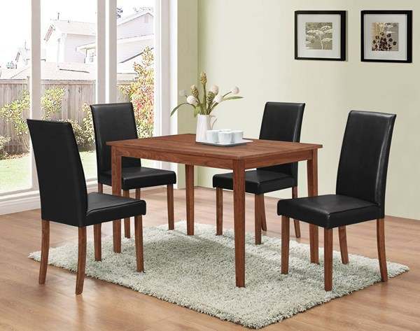 Coaster Furniture Brown 5pc Dining Set CST-100440