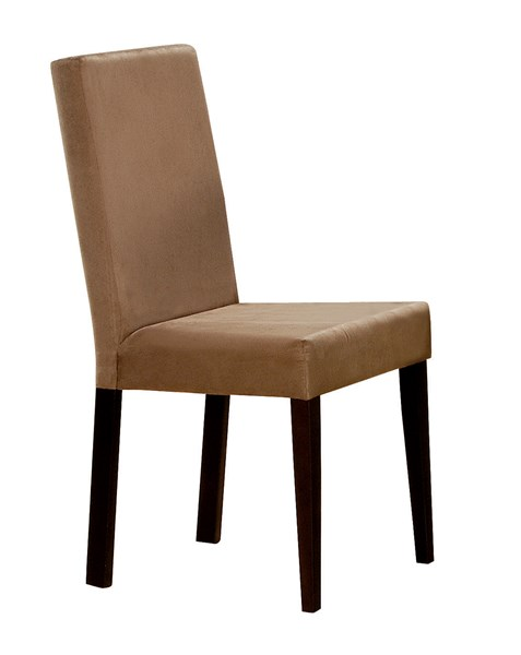Clayton Transitional Cappuccino Wood Armless Side Chair CST-100492