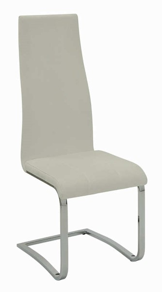 4 Coaster Furniture Nameth White Dining Chairs CST-100515WHT