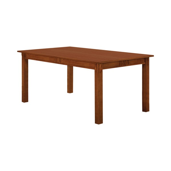 Coaster Furniture Marbrisa Brown Dining Table CST-100621