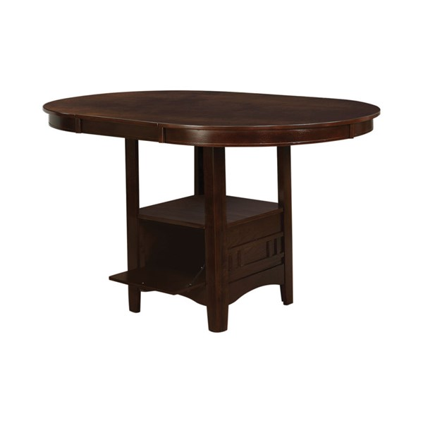 Coaster Furniture Lavon Warm Brown Counter Height Table CST-100888N