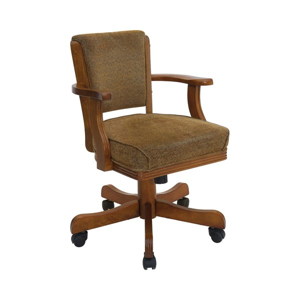 Coaster Furniture Mitchell Brown Fabric Upholstered Arm Chair CST-100952