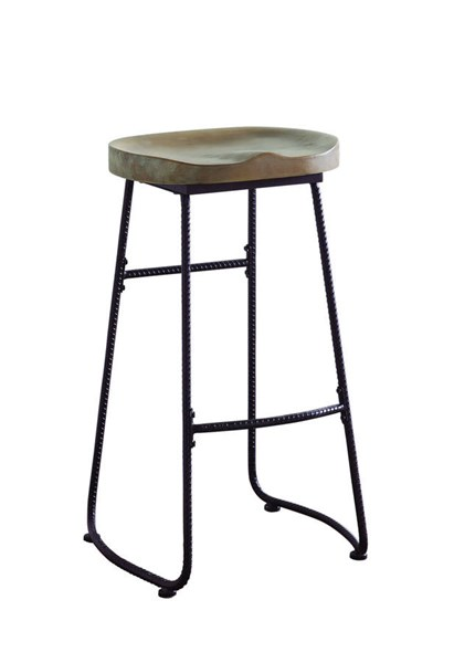 Coaster Furniture Brown Black Drift Bar Stool CST-101086