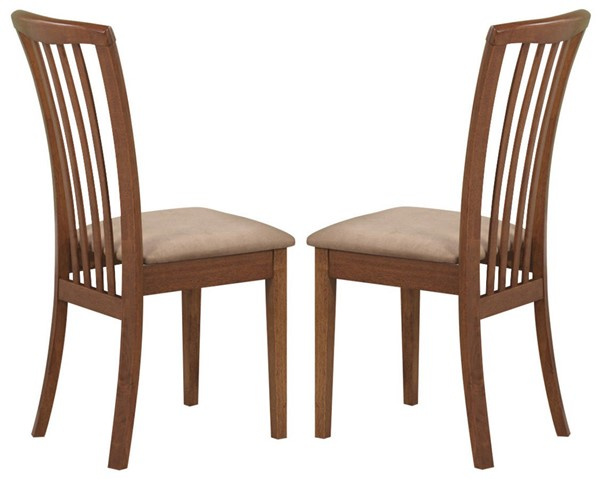 2 Coaster Furniture Brannan Amber Side Chairs CST-101092
