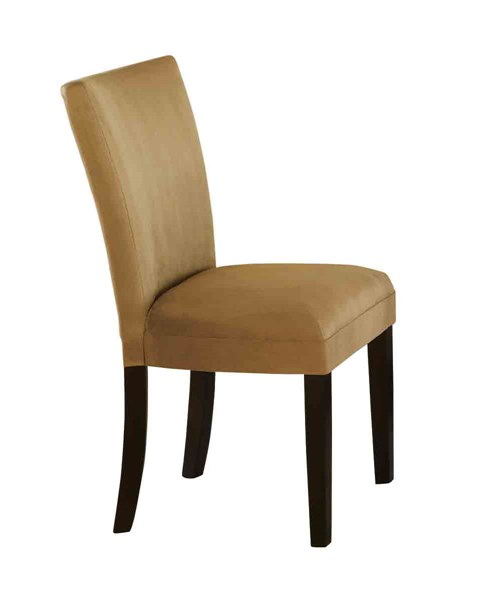 Bloomfield Transitional Wood Fabric Armless & Solid Back Parson Chair CST-10149-DC-VAR