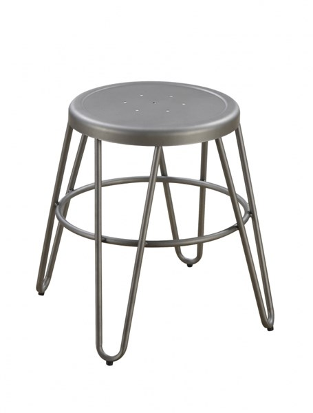 Galway Gunmetal Height Adjustable Eclectic Fun Look Bar Stools CST-10154-BS-VAR