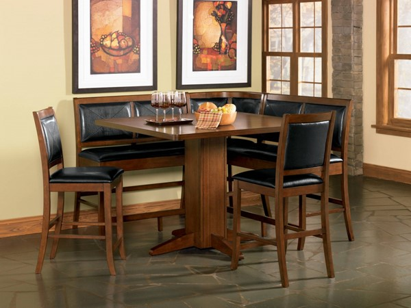 Lancaster Casual Dark Brown Wood 6pc Counter Height / Bar Set CST-101791SET