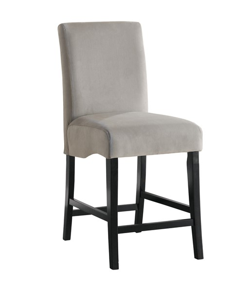2 Stanton Contemporary Grey Wood Bar Stools CST-102069GRY
