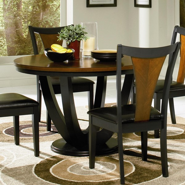 Boyer Traditional Black Cherry Wood Dining Table CST-102091