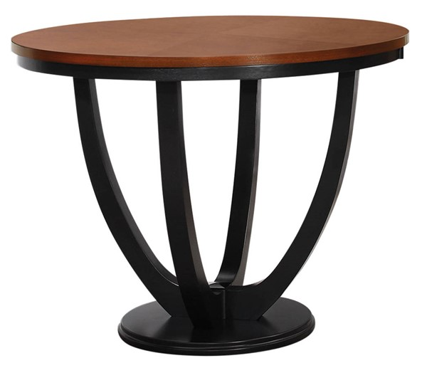 Coaster Furniture Boyer Amber Black Counter Height Bar Table CST-102098