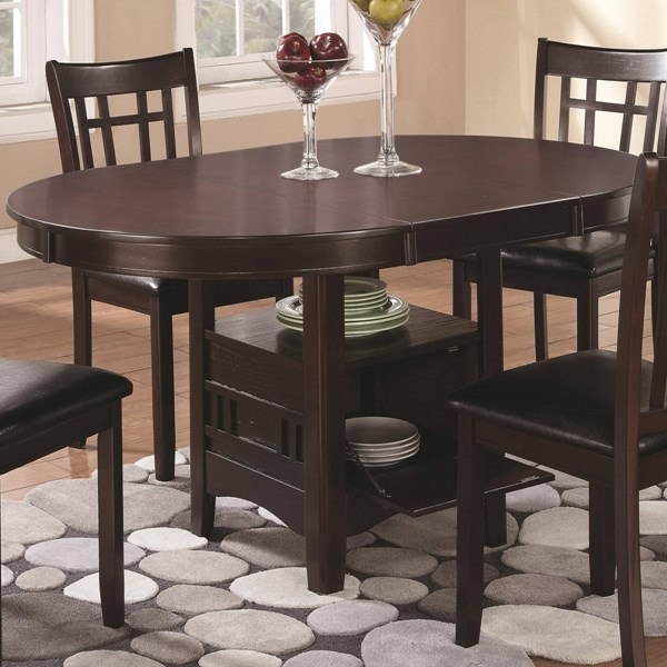 Lavon Transitional Espresso Wood Dining Table CST-102671