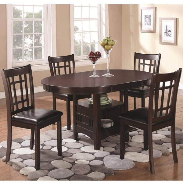 Lavon Transitional Espresso Wood Dining Room Set CST-102671-DR