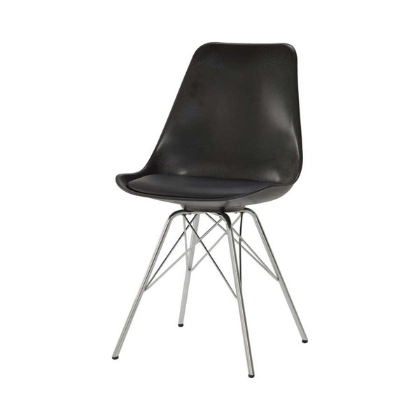 2 Coaster Furniture Lowry Black Dining Chairs CST-102682