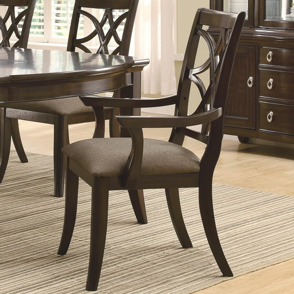 2 Coaster Furniture Meredith Arm Chairs CST-103533