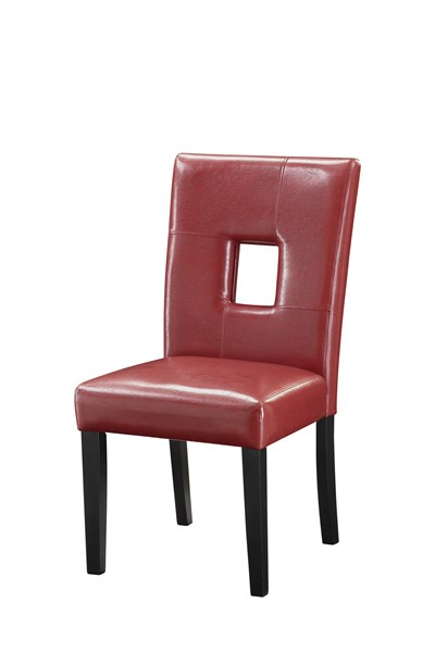 2 Newbridge Red Cappuccino Dining Chairs CST-103612RED