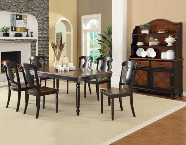 Conner country tobacco dining room sets the classy home for Best deals on dining room sets