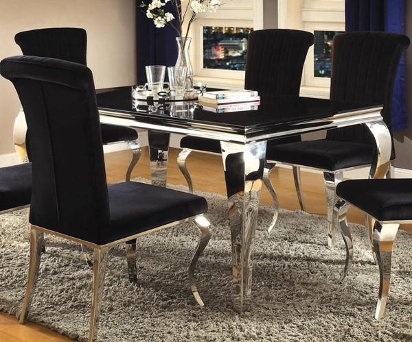 Coaster Furniture Carone Black Dining Table CST-105071