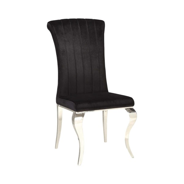 4 Coaster Furniture Carone Black Dining Chairs CST-105072