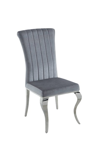 4 Coaster Furniture Carone Grey Dining Chairs CST-105073