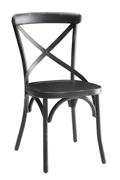 Nagel Antique Bronze & Galvanized Metal Dining Chairs CST-10531-DC-VAR
