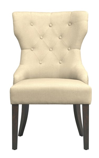 Coaster Furniture Florence Beige Fabric Dining Chair CST-105507