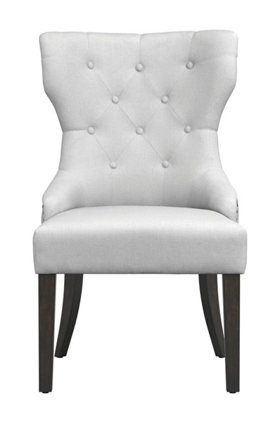 Coaster Furniture Florence White Fabric Dining Chair CST-105517