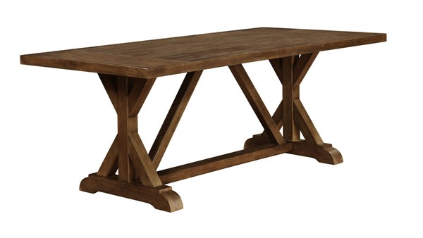 Bridgeport Weathered Acacia Wood Dining Table CST-105521