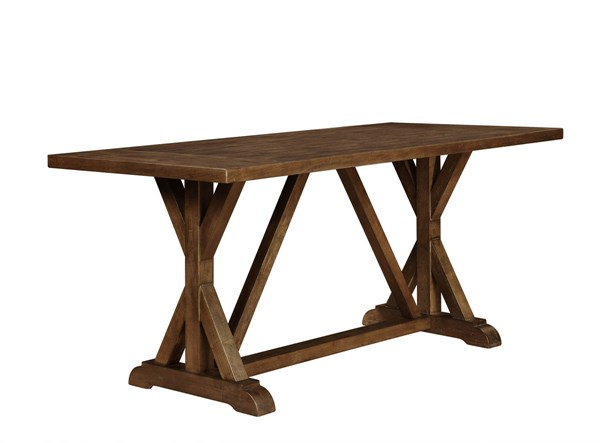 Bridgeport Weathered Acacia Wood Counter Height Table CST-105528