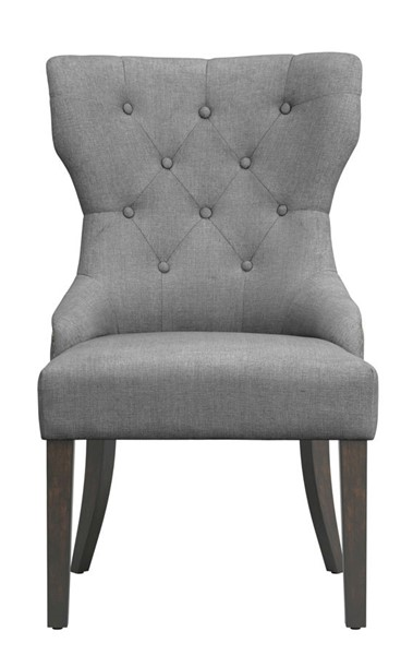 Coaster Furniture Florence Grey Fabric Dining Chair CST-105537