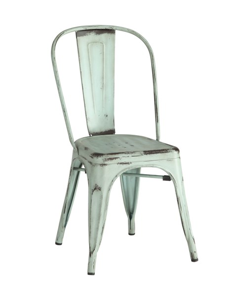 4 Coaster Furniture Bellevue Blue Dining Chairs CST-105614