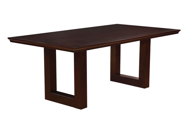 Chester Bitter Chocolate Wood Rectangle Table CST-105721