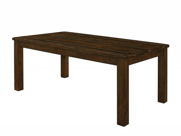 Wiltshire Rustic Pecan Wood Dining Table CST-106361