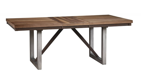 Coaster Furniture Spring Creek Natural Walnut Dining Table CST-106581