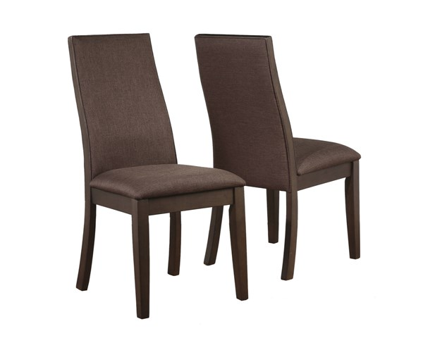 2 Coaster Furniture Spring Creek Brown Dining Chairs CST-106582