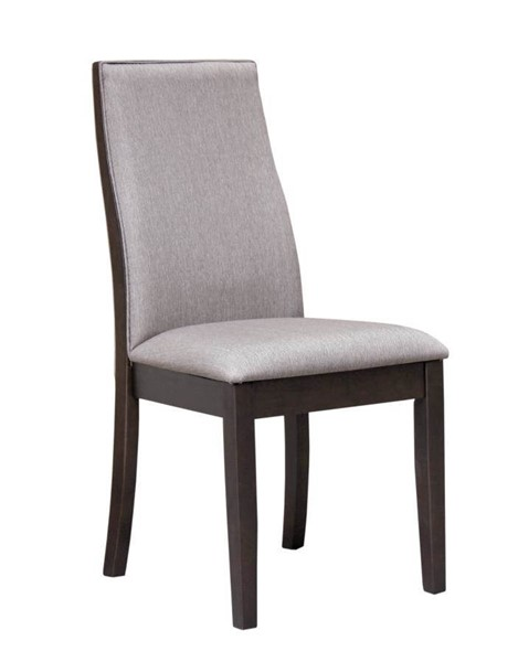 2 Coaster Furniture Spring Creek Grey Dining Chairs CST-106583