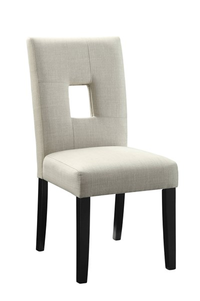Andenne Upholstered Seat Fabric Wood Dining Chairs CST-10665-DC-VAR