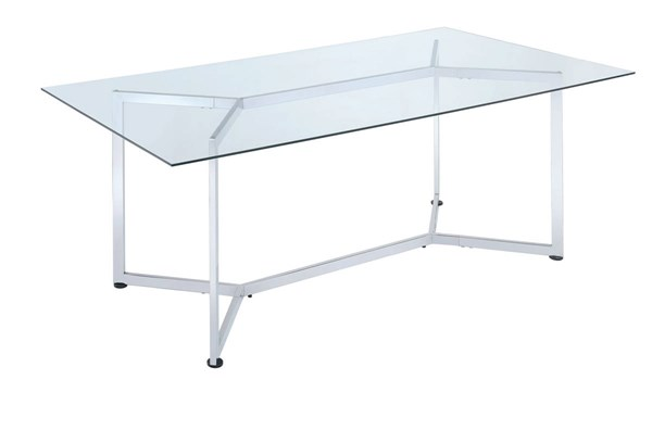 Coaster Furniture Chrome Dining Table CST-106901
