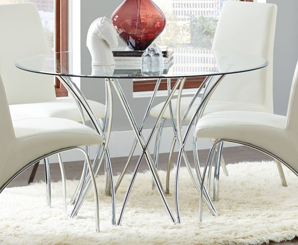 Coaster Furniture Paxton Dining Table CST-106921-CB48RD