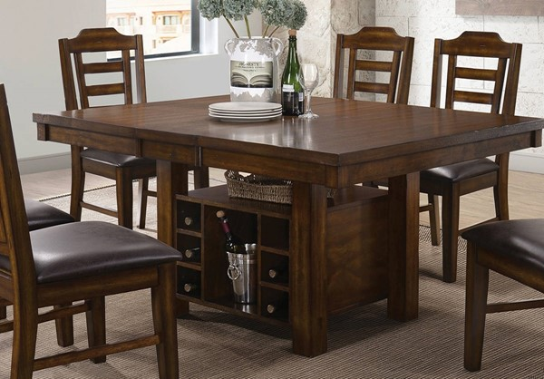 Coaster Furniture Bathurst Brown Dining Table CST-107631