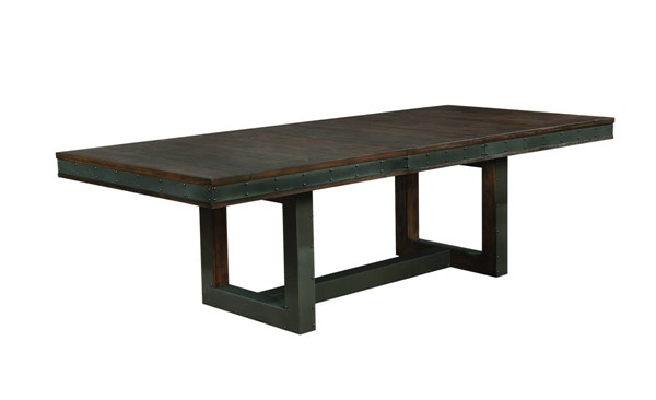 Coaster Furniture Atwater Bourbon Dining Table CST-107721
